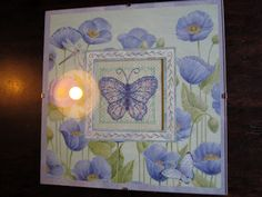 butterfly counted cross-stitch