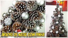 Árvore de Natal com Pinha - DIY #NatalReciclado | Luciana Queiróz