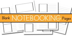 Notebooking Printables..  Free.. all primary lines.   Note to self: already saved pages