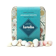 Turkish delight, you either love or loath it. Me, i love the stuff. Lavolio Arabian Nights Confectionery - Gift Tin - 175g