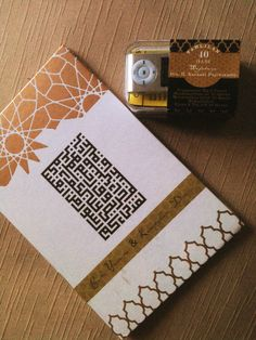 Customized marrocan geometric Yasin Gift Book + MP3 player : Qur'an Verse. For Order Inquiries Email us : 8thtree@gmail.com