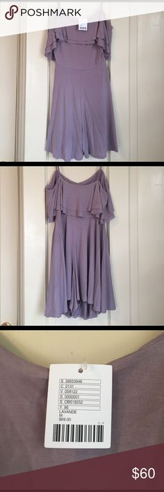 NWT Urban Outfitters Lavender Romper New with tags and never worn lavender romper from urban outfitters. Adjustable spaghetti straps. Perfect for a warm summer or spring day. Offers accepted! Urban Outfitters Dresses