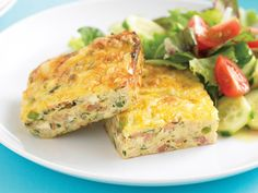 Easy to make and packed full of goodness, this tasty zucchini slice is beautiful enjoyed warm with a side salad, or refrigerated and popped in a lunchbox for work or school.