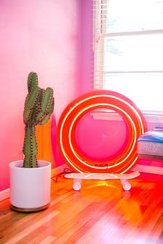 Why So Serious? Playful Design Trends We're Spotting: Neon, Influences, Toys & Weird Furniture, American Interior, West Los Angeles, Home Trends, House Colors, Design Trends, Beautiful Homes, Pattern Design, Apartment Therapy