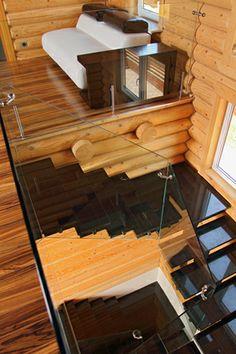 Стиль «Хай-тек» в деревянном доме