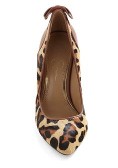 Leopards and Bounds Heel, #ModCloth