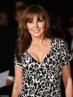 Carol Vorderman wears leopard print dress to BAFTA Games Award Beautiful Women Pictures, Gorgeous Women, Beautiful Females, Christina Ag, Carol Vordeman, Carol Kirkwood, Sexy Older Women, Sexy Women, Low Cut Dresses