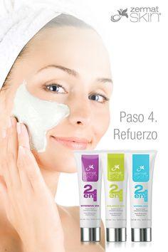 Refuerzo con doble acción de limpieza y humectación que previene el exceso de acné, mientras humedece las áreas más afectadas