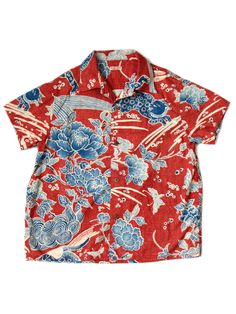KAPITAL Hawaiian shirt