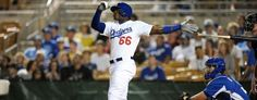 Yasiel Puig is turning heads with the Dodgers this spring.