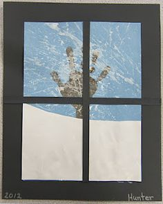 Mrs. Karen's Preschool Ideas: Winter Window