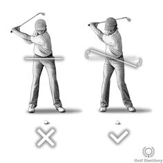 Hips should coil during the backswing; not only the shoulders
