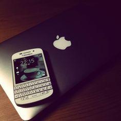 Blackberry Q10 + Mac Air