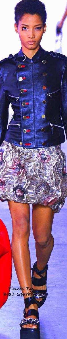 SPRING RTW 2016 (PFW) Louis Vuitton ~ ♕♚εїз | BLAIR SPARKLES | Runway Fashion, Fashion 2016, Fast Fashion, Red White Blue, Summer Collection, Outerwear Jackets, High Waisted Skirt, Mini Skirts, Louis Vuitton