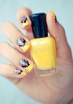 Tribal nail art is trending on bloom.com