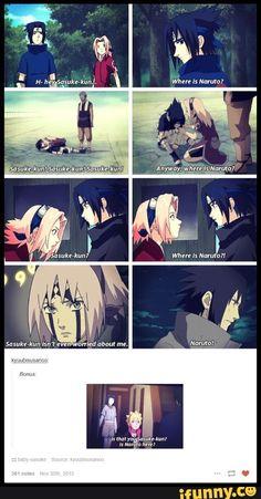 Seht ihr das!? SEHT ihr das!? *wie ne irre auf Sasukes fragen zeigen* O.O