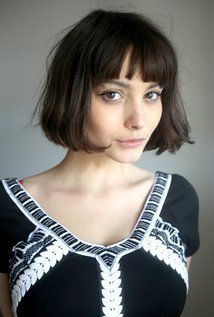 Image result for model with short bob cut