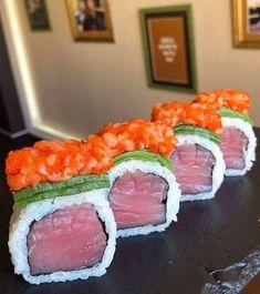 °I LOVE SUSHI° Sushi Co, Sushi Party, Edible Art, Sashimi, Japanese Food, Tuna, Tasty, Restaurant, Meals