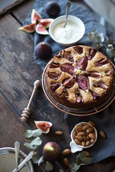 Ottolenghi's Fig & Almond cake