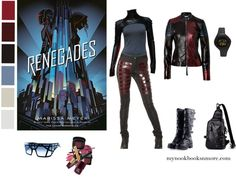 My Book Looks & Waiting On Weds - Renegades by Marissa Meyer