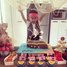 Candy bar jake y los piratas de nunca jamás!!!