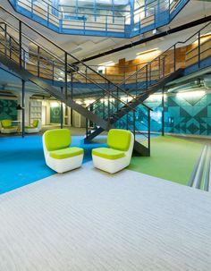 BAUX project for Grillska Gymnasiet in Sweden. Designed by CoDesign.