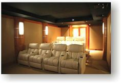 CEDIA Award Winning home theater, by Acoustic Finishes