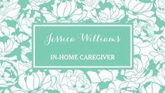 Modern Mint Green Floral Girly Nurse Caregiver Business Cards http://www.zazzle.com/modern_mint_green_floral_girly_nurse_caregiver_double_sided_standard_business_cards_pack_of_100-240754740091278201?rf=238835258815790439&tc=GBCNursing1Pin