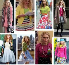 TV STYLE ICON; Carrie Bradshaw of the Carrie Diaries