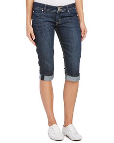Spotted this HUDSON Jeans Malibu Indigo Cap Cuffed Leg on Rue La La. Shop (quickly!).