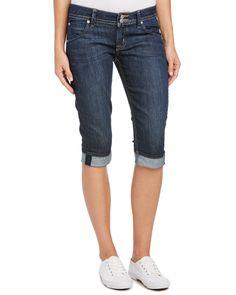 Spotted this HUDSON Jeans Malibu Indigo Cap Cuffed Leg on Rue La La. Shop (quickly!).