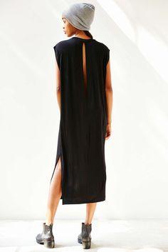 Silence + Noise Clea Long Tee Midi Dress