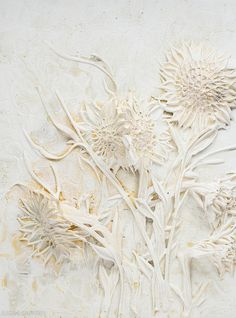 "30""x40"" Acrylic on Canvas - White Series - Artist, Justin Gaffrey"