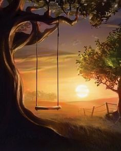 Forget about the tomorrows and the dreams of yesterday.. swing away..