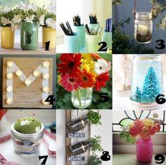 Link Love: Mason Jar Craft Ideas
