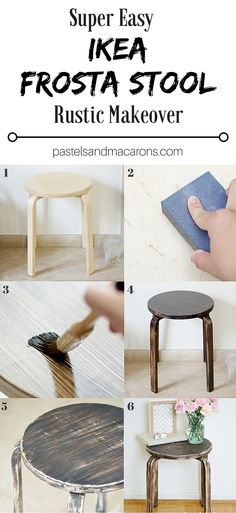 This Ikea Frosta Stool Rustic Makeover is easy to follow and so quick and simple to accomplish. Give your modern Ikea furniture an weathered…