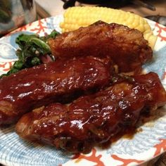 Low And Slow Oven Baked Ribs - Super Simple! Slow Cooked Ribs, Slow Cooked Meals, Beef Ribs, Oven Baked Ribs, Ribs In Oven, Baked Pork, Rib Recipes, Cooking Recipes, Cooking Ribs