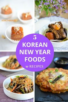 Korean Traditional New Year Foods - Korean Traditional Foods - New Year, Harvest and more - Asian Recipes Best Healthy Dinner Recipes, Easy Asian Recipes, New Recipes, Ethnic Recipes, Korean Recipes, Healthy Dinners, Holiday Recipes, Korean Traditional Food, Korean New Year