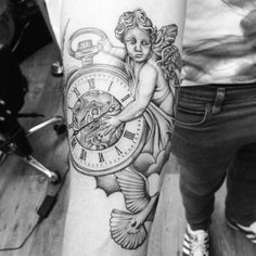 Cherub tattoo