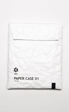 Etui Paper Case 01 for iPad Fashion Packaging, Brand Packaging, Packaging Design, Branding Design, Simple Packaging, Clothing Packaging, Pretty Packaging, Paper Case, Print Design