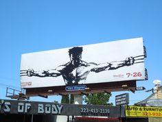 The Wolverine 2013 movie billboard