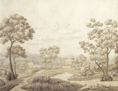 Virginia scenic of antique grisaille _BM