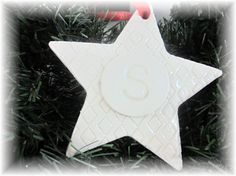 Personalized Star Christmas Ornament  First by lovebirdslane