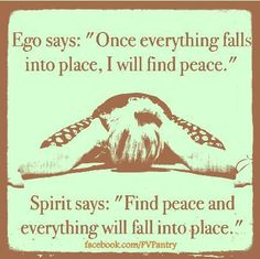 I need to listen to my spirit more