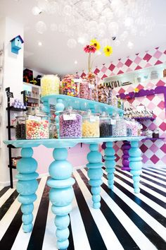 #ChicEats: Candy Stores Around the World SugarSin, London: The interior of SugarSin in London is as magical as the candy sold there.