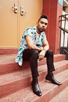 Miguel Opens Up About Love & Music To PAPER Magazine!