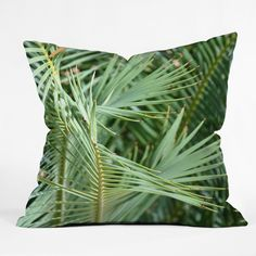Lisa Argyropoulos Whispered Fronds Outdoor Throw Pillow | DENY Designs Home Accessories