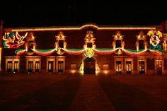 Palacio de Gobierno en las fiestas patrias