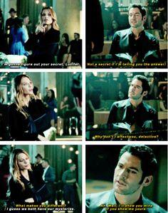 Chloe and Lucifer -- 1x02: Lucifer, Stay. Good Devil