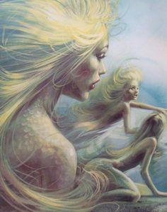 Mermaids.•´¯`•.´¯`•.¸¸.•´¯`•.¸(✿ ♥‿♥)
